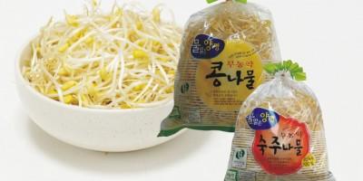 무농약 콩나물, 숙주나물