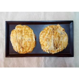 구운 아귀포 빵